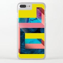 D like Deconstruction Clear iPhone Case