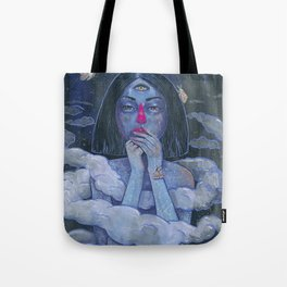 In Threes Tote Bag