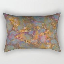 Distressed Grunge Rectangular Pillow