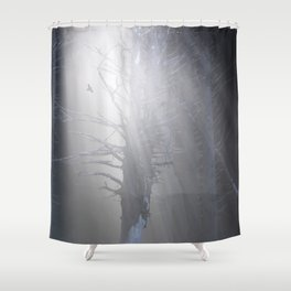 Sunrise in the Trump Forets. Shower Curtain