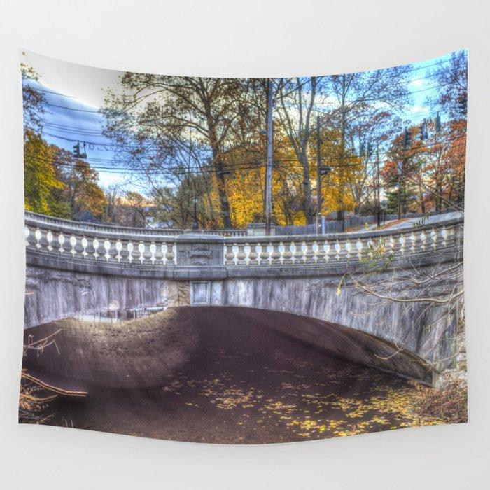 The Headless Horseman Bridge Wall Tapestry