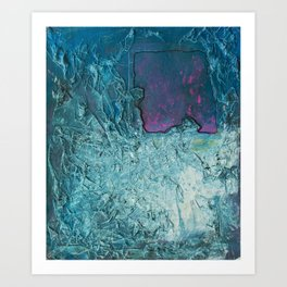 Crumbled Thought Art Print