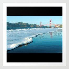 Golden Gate from Baker Beach Art Print