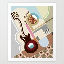 Bauhaus Harmony Art Print