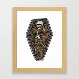 Ancient Stoner Framed Art Print