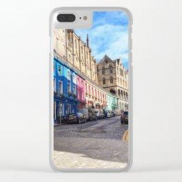 Edinburgh Grassmarket Clear iPhone Case