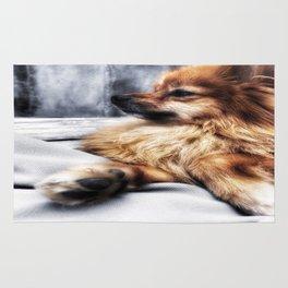 Monday Pomeranian Rug