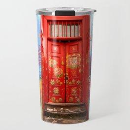 Red Door Travel Mug