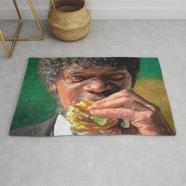 Tasty Burger Rug