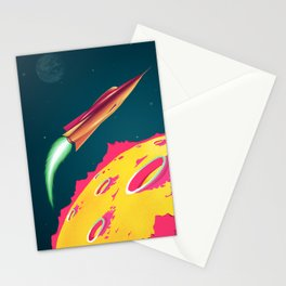 FLYING SAUCERS ATTACK Stationery Cards