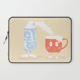 Milky Couple Laptop Sleeve