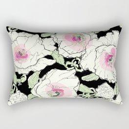 poppies creme Rectangular Pillow