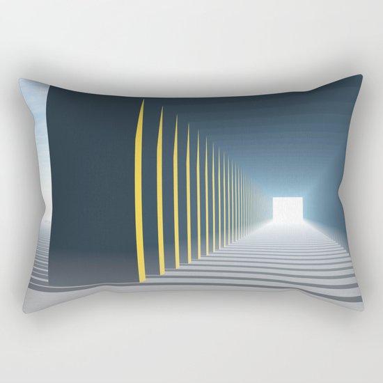 Linear Perspective of Light Rectangular Pillow