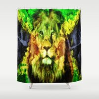 rasta Shower Curtains featuring Rasta  by gypsykissphotography