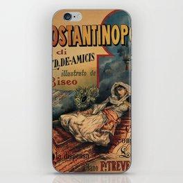 Constantinople Italian vintage book advertisement iPhone Skin