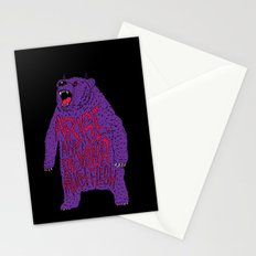 Arise and Devour Much Flesh Stationery Cards
