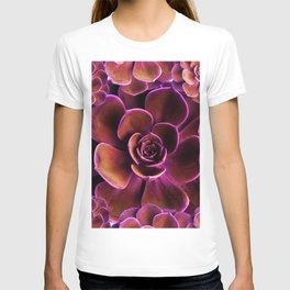 PURPLE TINGED JADE CACTI SUCCULENTS T-shirt
