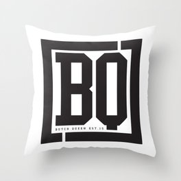 BQ Throw Pillow