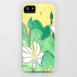Bloodroot iPhone Case