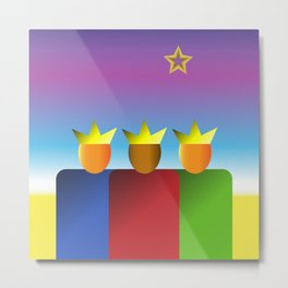 Three Kings #1 Metal Print