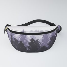 Forest Foggy Mood Fanny Pack