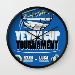 Blitzball Tournament Wall Clock
