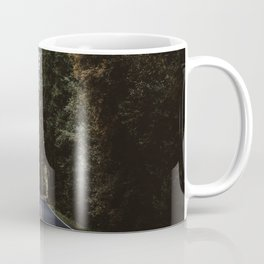 A Lovely Drive through the Forest Coffee Mug