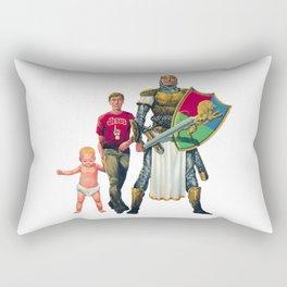 The Next Step (for growing Christians) Rectangular Pillow