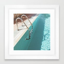 Swimming Pool IV Framed Art Print