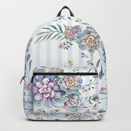 succulent watercolor 2 Backpack