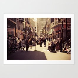 A New Orleans Scene Art Print