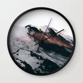 Mount Rainier VII Wall Clock