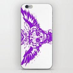SUGAR SKULL OWL PURPLE  iPhone & iPod Skin