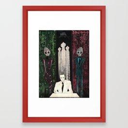 The comfort of strangers Framed Art Print