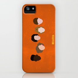 Minimalism Misfits  iPhone Case