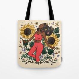 Keep Growing Tote Bag