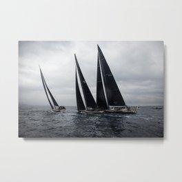 Regatta-sailing yachts -nautical photography Metal Print