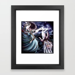 The Flame of Tar Valon Framed Art Print