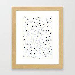 Rain Drop Framed Art Print