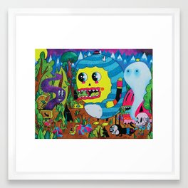 The Treasure Hunters Framed Art Print