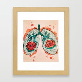 Poppylungs Framed Art Print