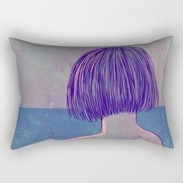 At the sea Rectangular Pillow