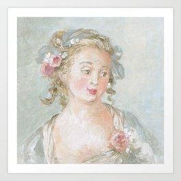 Claudette Art Print