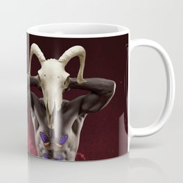 Surreal collage - Double portrait Coffee Mug