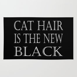 Cat Hair Is The New Black Rug