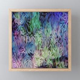 Turquoise Of Pastel Framed Mini Art Print