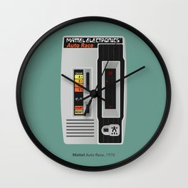 Mattel Auto Race, 1976 Wall Clock