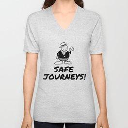 Safe Journeys! Unisex V-Neck