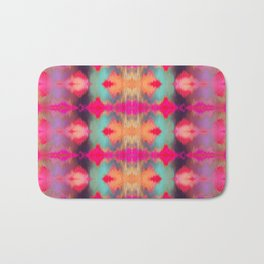 Watercolor Ikat Bath Mat