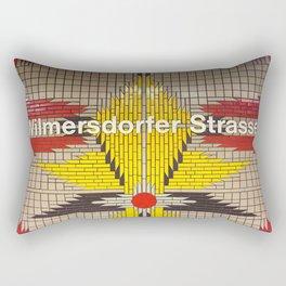 Berlin U-Bahn Memories - Wilmersdorfer Strasse Rectangular Pillow